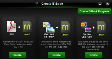 Podporované  soubory můžete převést do nativního formátu aplikace pro vyšší rychlost prohlížení