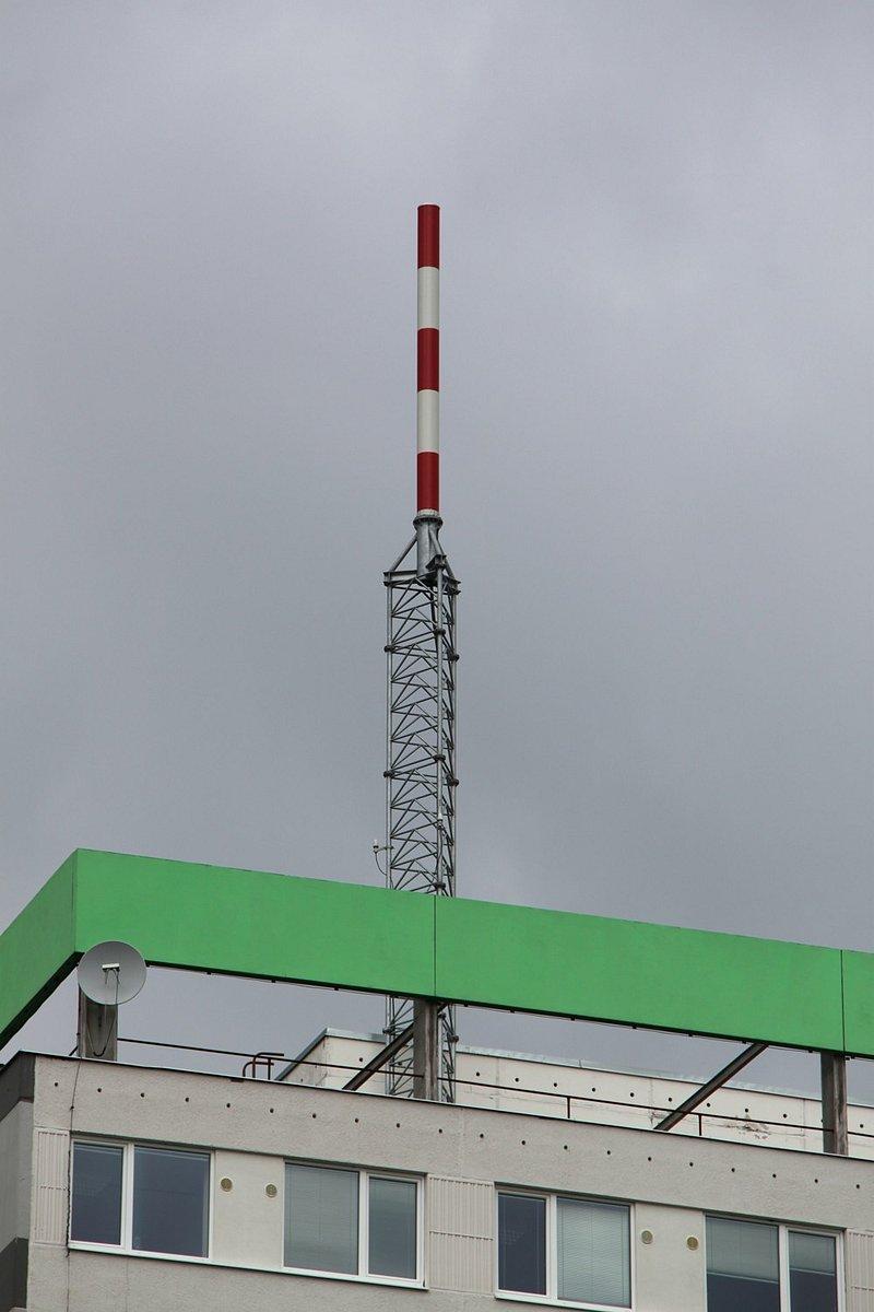 Praha - Novodvorská - Vysílací síť 4 a Regionální síť 7