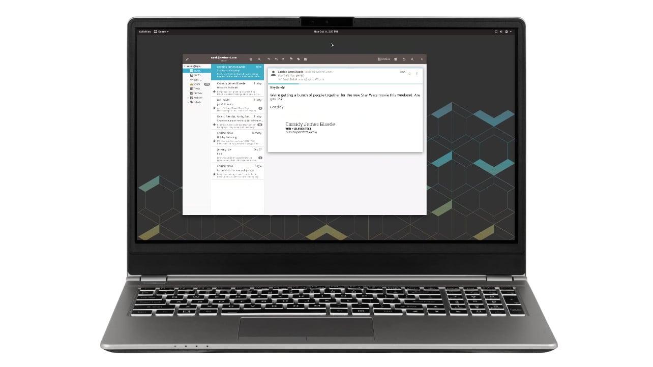 Darter Pro System76 notebook
