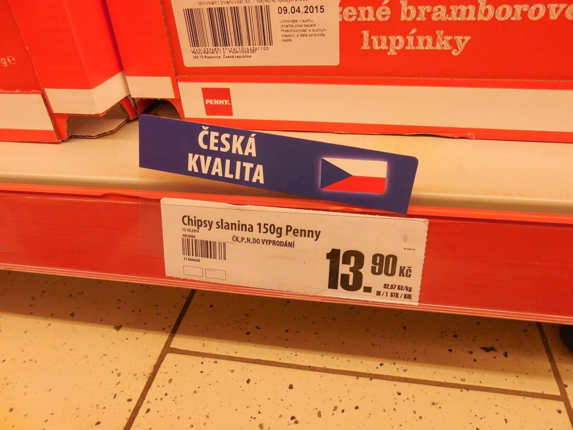 """Penny Market prodává polské potraviny coby """"Českou kvalitu"""""""