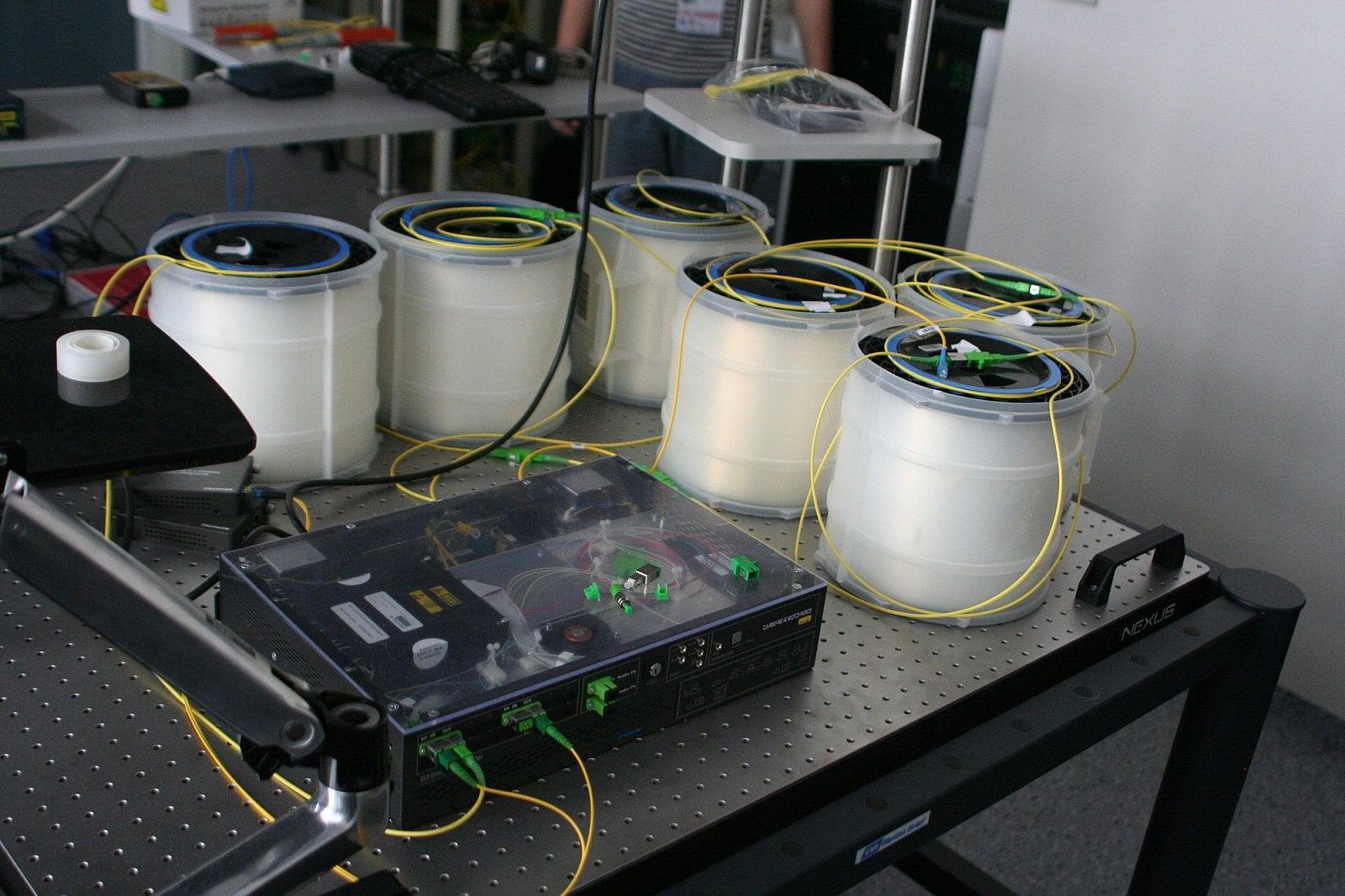 Optická laboratoř CESNET
