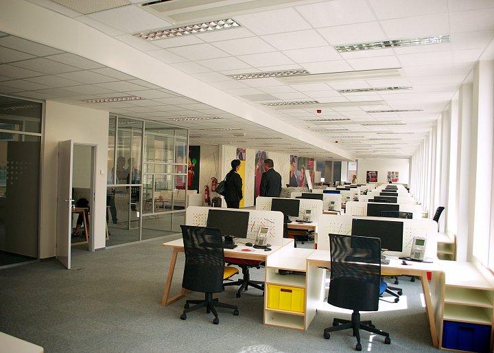 Nové call centrum Vodafone