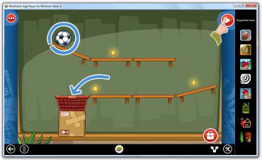 Ukázka hry Amazing Alex v prostředí systému Windows