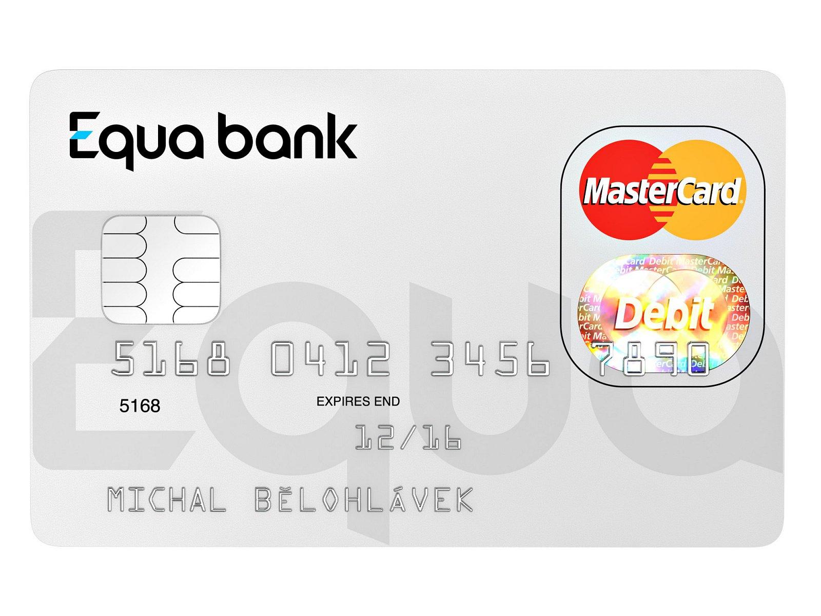 Equa bank platební karta