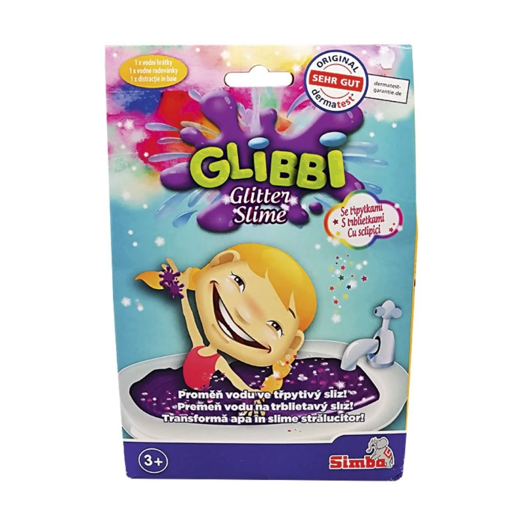 Glibbi Sliz do koupele se třpytkami