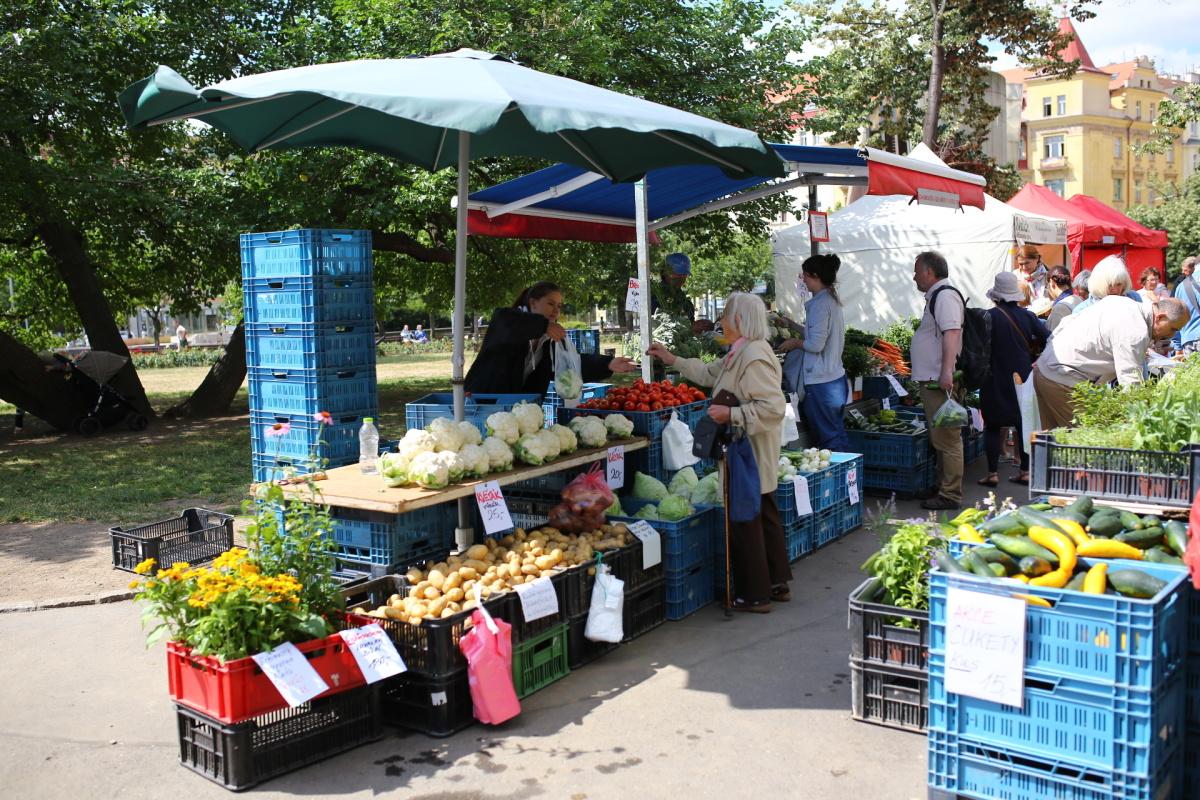 Farmářské tržiště Jiřák