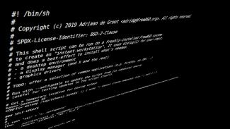 FreeBSD desktop skript