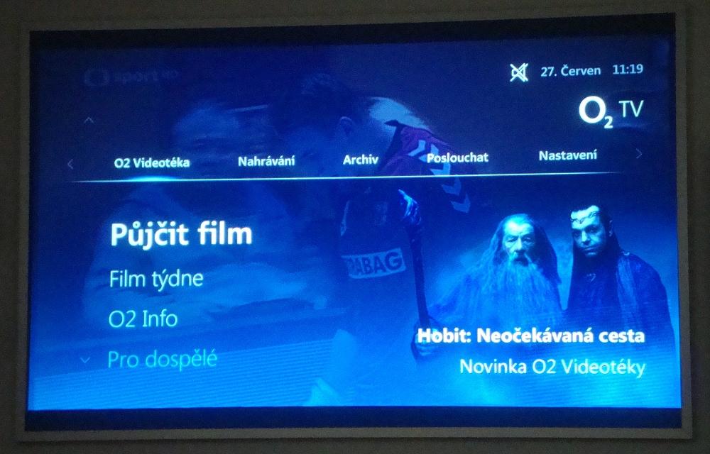 Nová podoba služby O2TV po přechodu na platformu nangu.TV