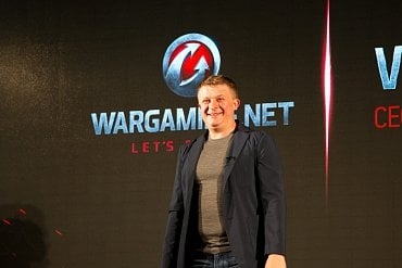 Zakladatel a šéf Wargamingu Viktor Kislyi