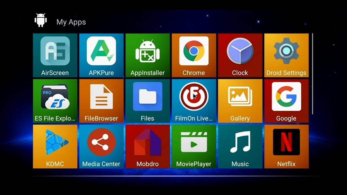 HK1 Play Bqeel - uživatelské prostředí