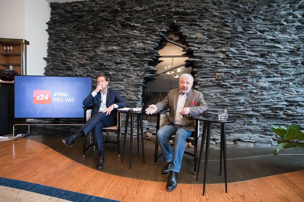 Tisková konference chystané zpravodajské televize Z24 2/2