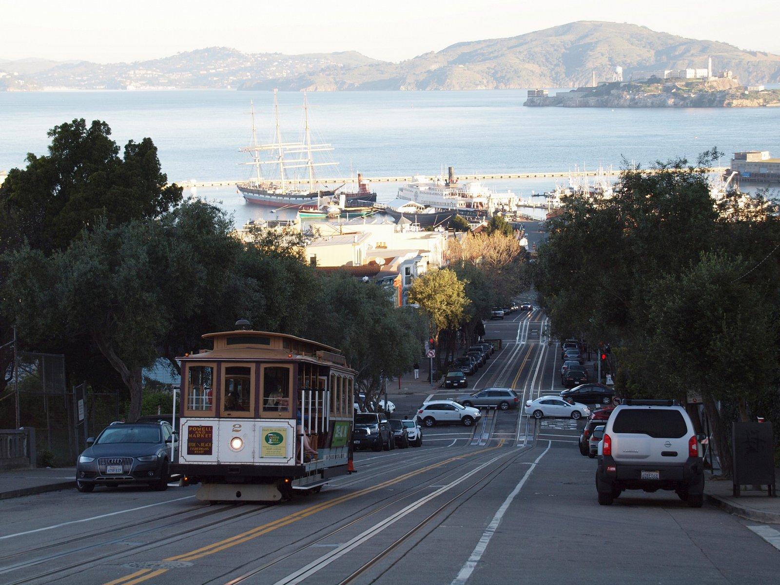 Cestování po San Franciscu