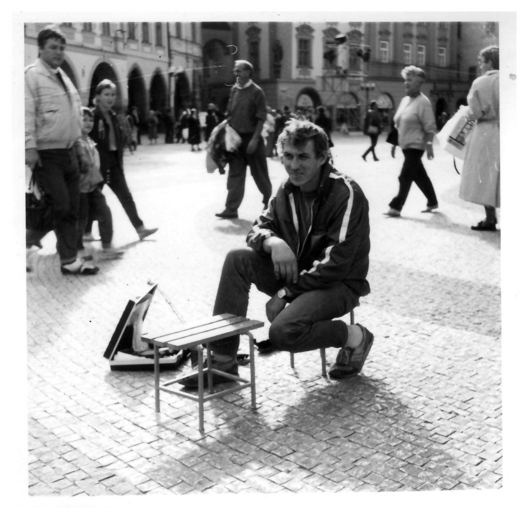 Začátky pražského čističe bot Michala Grivalského
