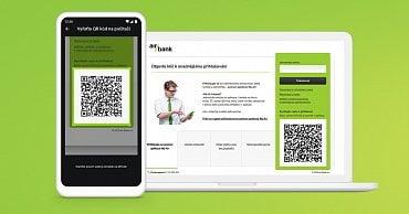 Přihlášení do internetového bankovnictví Air Bank přes QR kód. (25.9.2020)