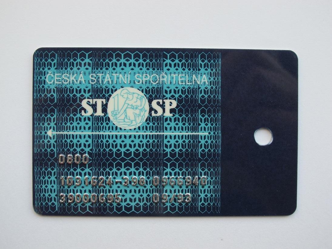 Česká spořitelna platební karta