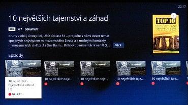 Ukázka karty seriálu