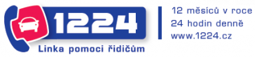 Logo univerzálního přístupového čísla pro jakoukoli asistenční službu všech českých pojišťoven
