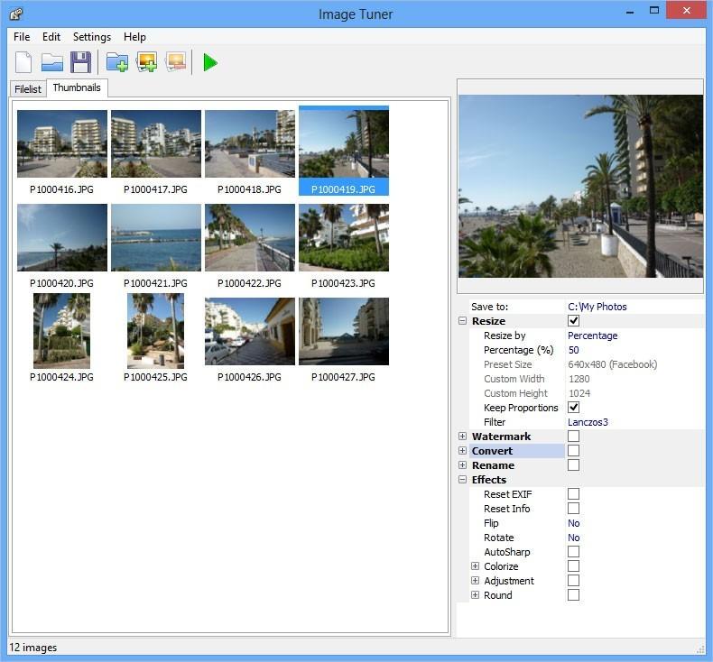 Image Tuner vám usnadní úpravu fotografií