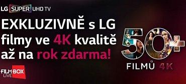 """Promo na stránkách LG. Povšimněte si především nápisu """"Super UHD TV"""". Nepřipomíná vám to jednu konkurenci?"""