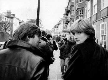 National Geographic - snímek Diana osobně.
