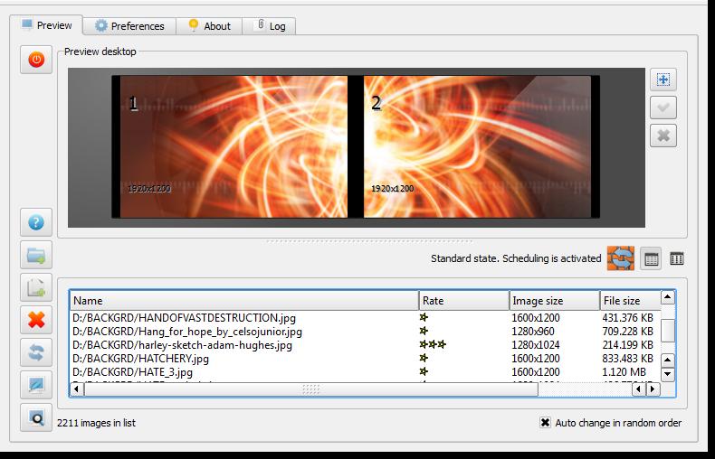 Pomocí SyncWall můžete mít jedním kliknutím stejnou tapetu na více PC