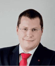 Filip Vavruška, nový ředitel Oberbank (od 1. prosince 2019).