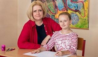Některé děti si myslí, že bolest je při psaní normální