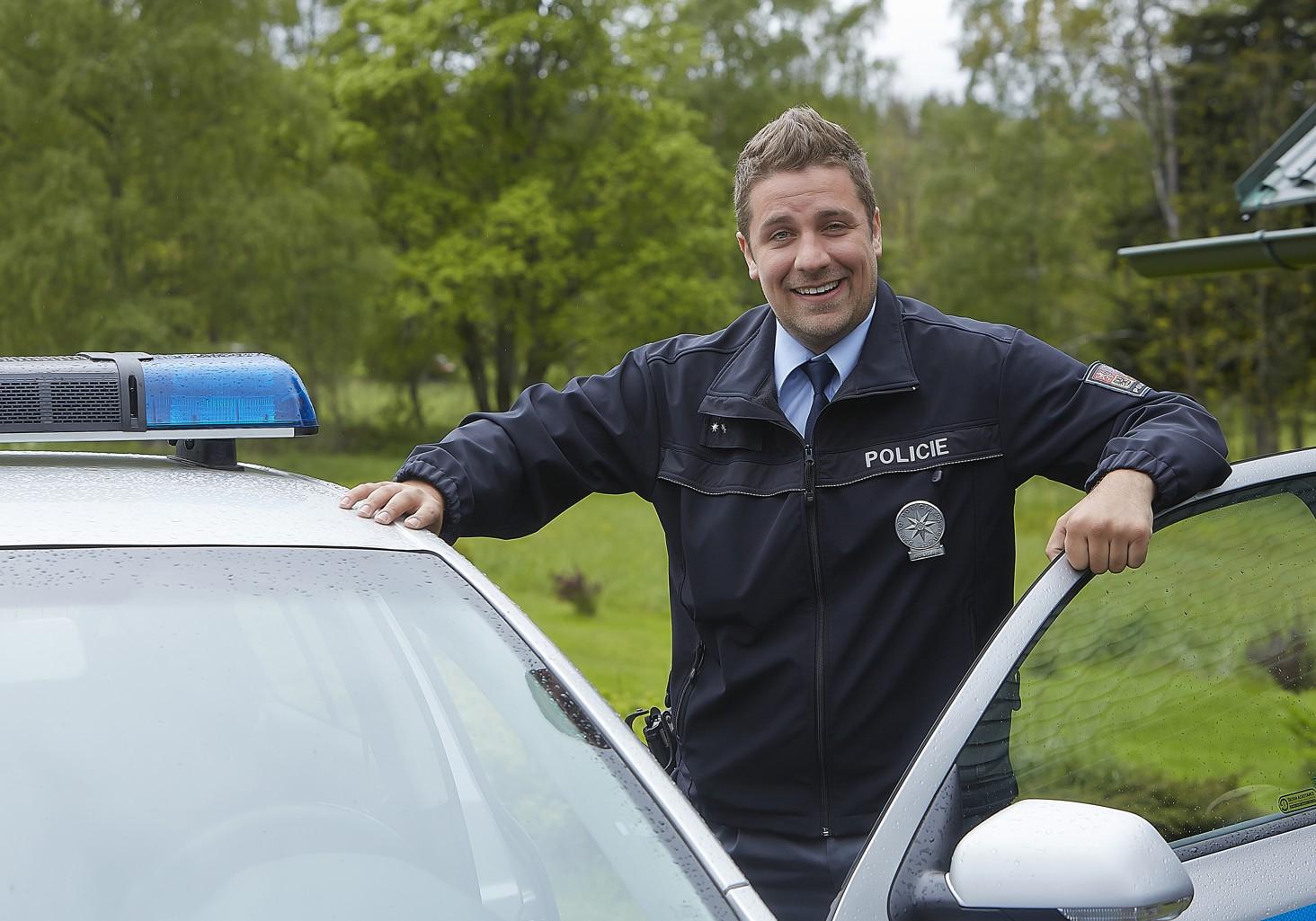 Policie Modrava na obrazovce televize Nova