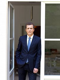 Tomáš Končický, ředitel a partner české pobočky Bank Gutmann (09/2015)