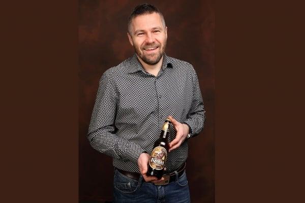 Sládek Velkopopovického pivovaru Vojtěch Homolka