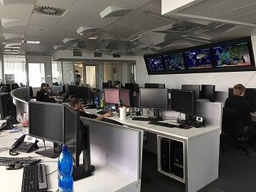 Virová laboratoř ESETu v sídle v Bratislavě.