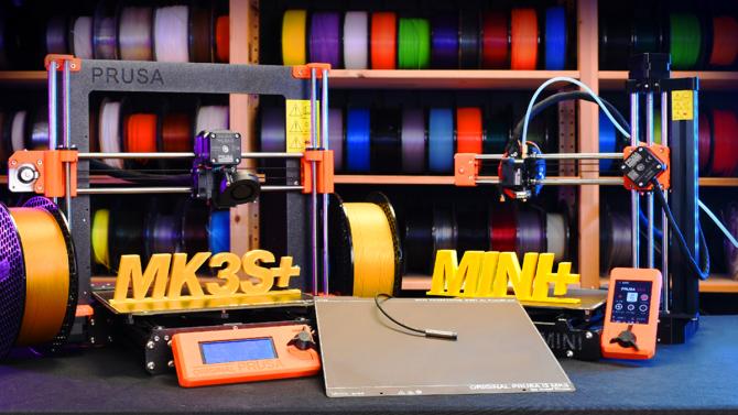 [aktualita] Průša vydává nové a inovované verze 3D tiskáren MK3S a MINI