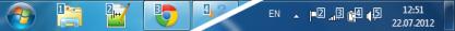 Pomocí 7 Taskbar Numberer si vyladíte Hlavní panel podle potřeb