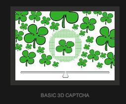 3D captcha rozluštěná. Stačí posunout táhlo.