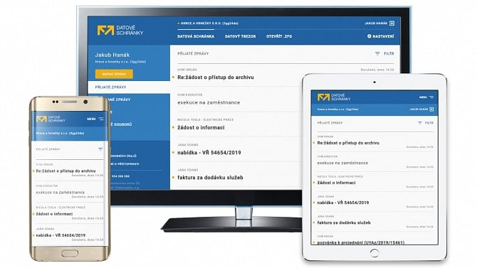 Zprávy zDepa (2): Automatické zřízení datové schránky pro informačně gramotné