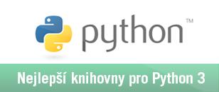 Nejlepší knihovny pro Python 3