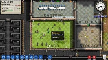 Prison Architect - obrázky ze hry.