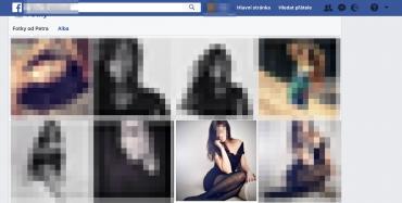 Skutečný profil na Facebooku jedné ze společnic. Správně bych jej nikdy neměl najít.