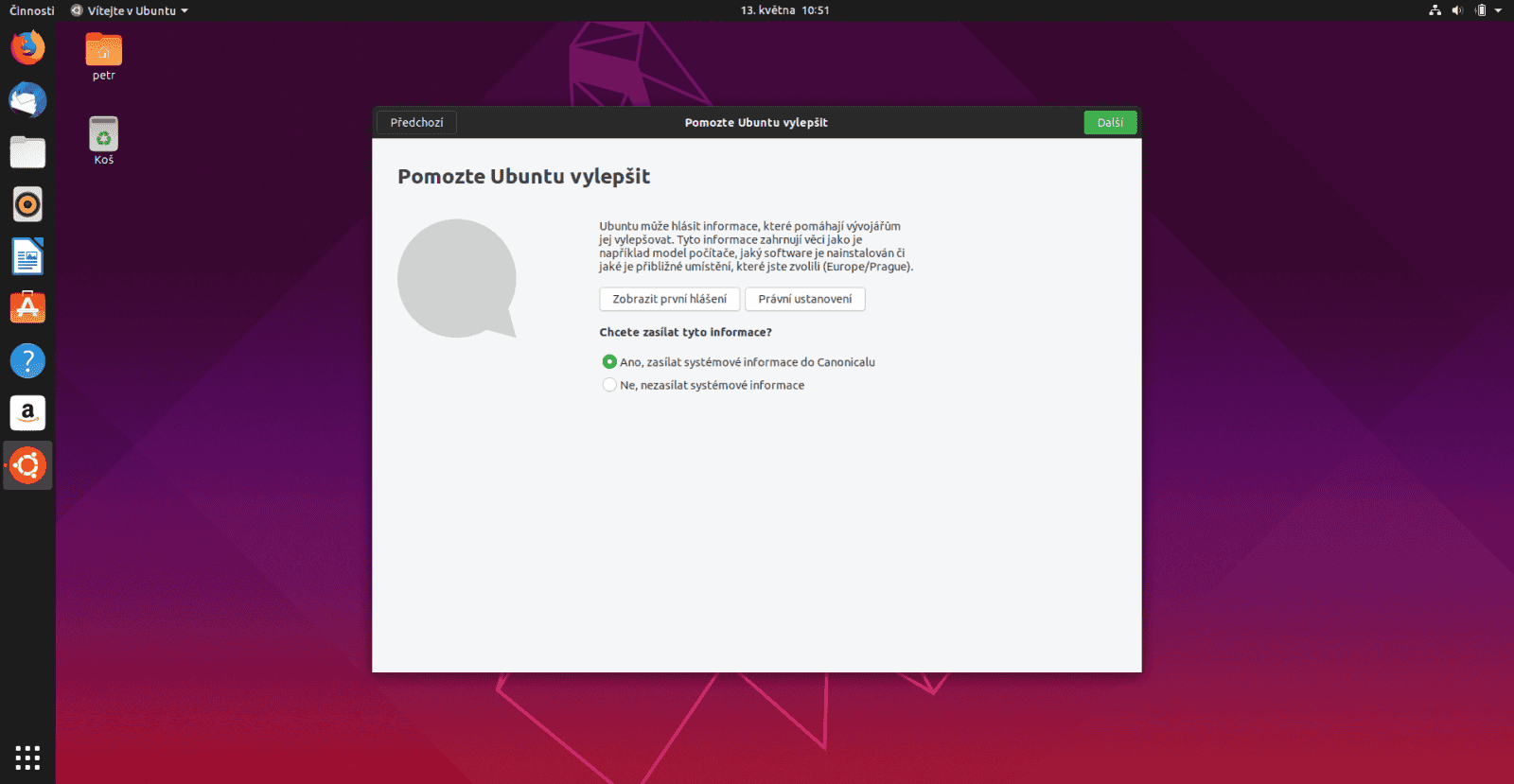 Ubuntu 19.04 Gnome