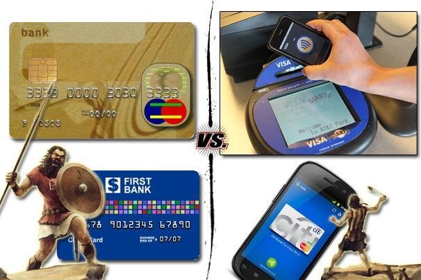 NFC vs. kreditní karty