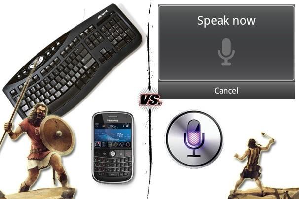 Hlasové ovládání vs. klávesnice