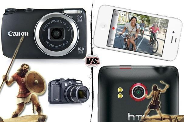 iPhone vs. digitální fotoaparáty