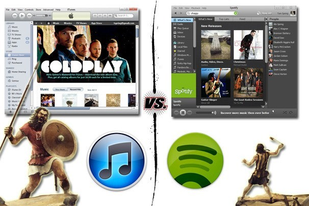 Spotify vs. iTunes