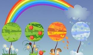 Jaro, léto, podzim, zima. Kdy je nejlepší počít dítě?
