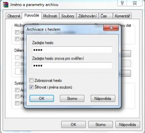 Nastavení hesel vám může zvýšit zabezpečení komprimovaných archivů, stejně jako natropit lapálie při jejich zapomenutí