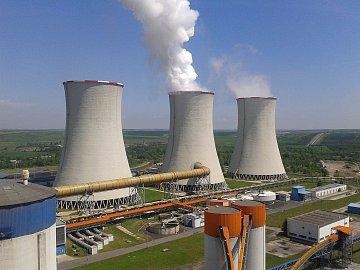 Elektrárna Tušimice od ČEZu.