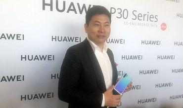 Richard Yu, výkonný ředitel divize koncových zařízení v Huawei