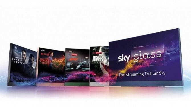 Televizor Sky Glass: chytré zařízení navržené na míru operátorovi