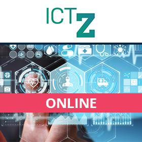 Logo ICT ve zdravotnictví 2021
