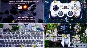 Hru Air Attack HD Lite jsem tentokráte vyzkoušel i s kompatibilním herním ovladačem Logitech Wireless Gamepad F710. Bylo to příjemně pohodové!